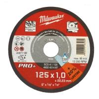 Մետաղական կտրող սկավառակ Milwaukee 125*1*22,23mm