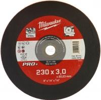 Մետաղական կտրող սկավառակ Milwaukee 230*3*22,23mm