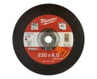 Մետաղական հղկող սկավառակ Milwaukee 230*6*22,23mm