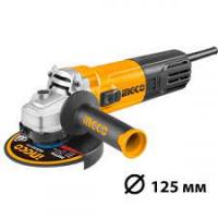 Անկյունային հղկիչ (բալգարկա) ռեգուլյատրով 125մմ, 900W INGCO AG900285